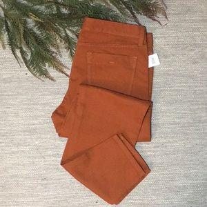 BANANA REPUBLIC | Burnt Orange Skinny Jeans